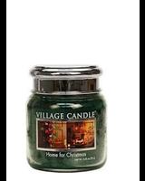 Village Candle Home For Christmas Mini Jar