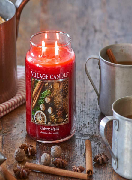 Village Candle Village Candle Christmas Spice Large Jar