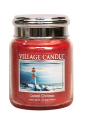 Village Candle Coastal Christmas Medium Jar