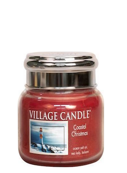 Village Candle Coastal Christmas Small Jar