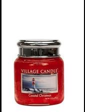 Village Candle Coastal Christmas Mini Jar