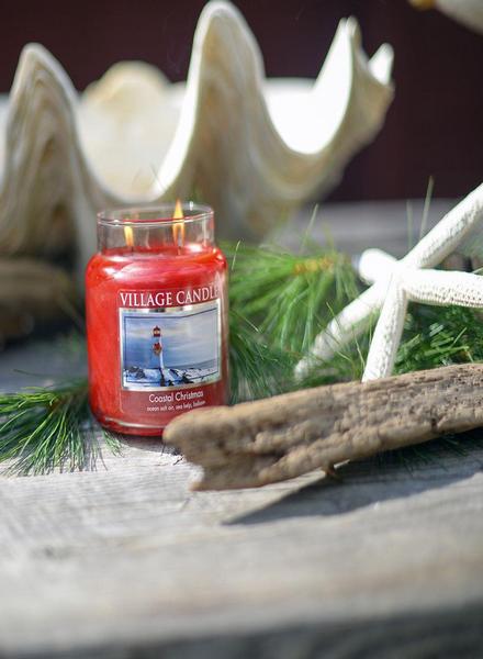 Village Candle Village Candle Coastal Christmas Votive