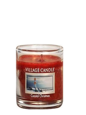 Village Candle Coastal Christmas Votive