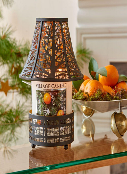 Village Candle Village Candle Winter Clementine Medium Jar