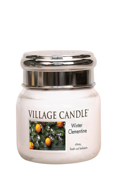 Village Candle Winter Clementine Small Jar