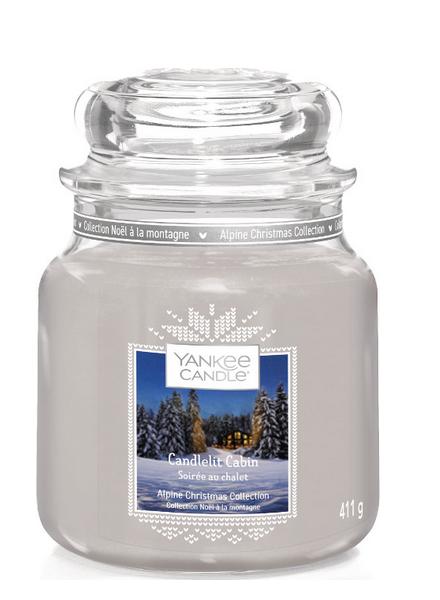 Yankee Candle Yankee Candle Candlelit Cabin Medium Jar