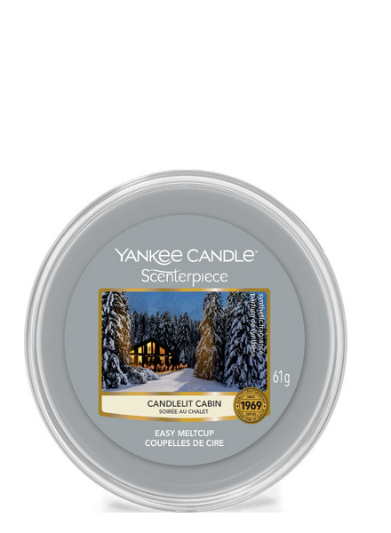 Yankee Candle Candlelit Cabin Melt Cup