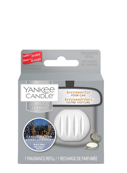 Yankee Candle Candlelit Cabin Charming Scents Refill