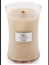 Woodwick Large White Honey