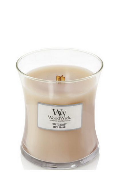 Woodwick Medium White Honey