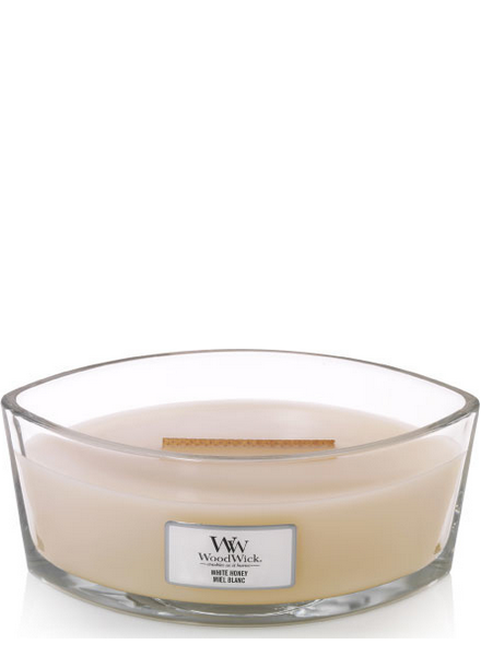 Woodwick Ellipse White Honey