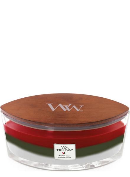 Woodwick WoodWick Winter Garland Trilogy Ellipse