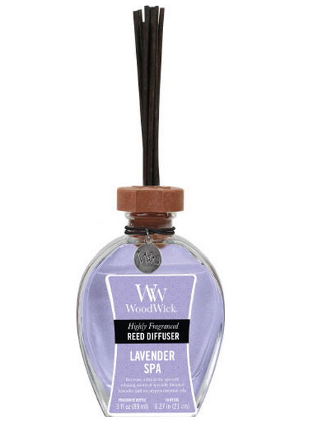 Woodwick Lavender Spa Geurstokjes - Reed Diffuser