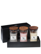 Woodwick Gift Set Deluxe Mini Jar