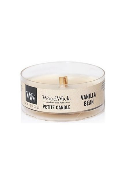 Woodwick Woodwick Gift Set Glowing Leaf Holder Vanilla Bean