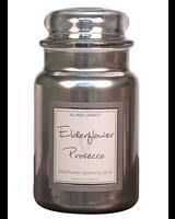 Village Candle Elderflower Prosecco Metallic Large Jar