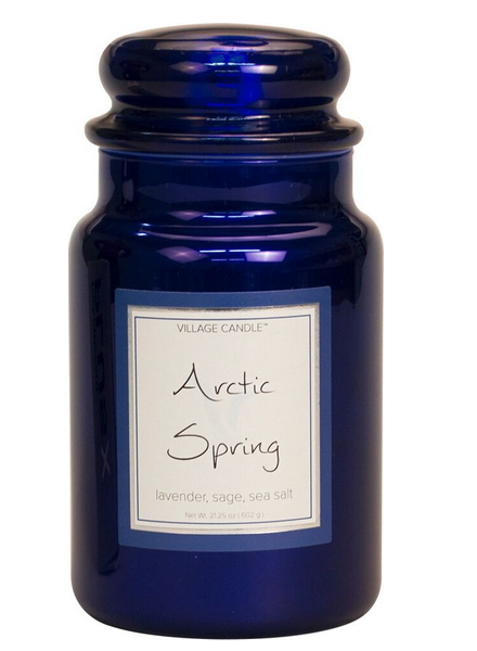 Village Candle Village Candle Arctic Spring Metallic Large Jar