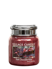 Village Candle Dark Chocolate Rose Mini Jar