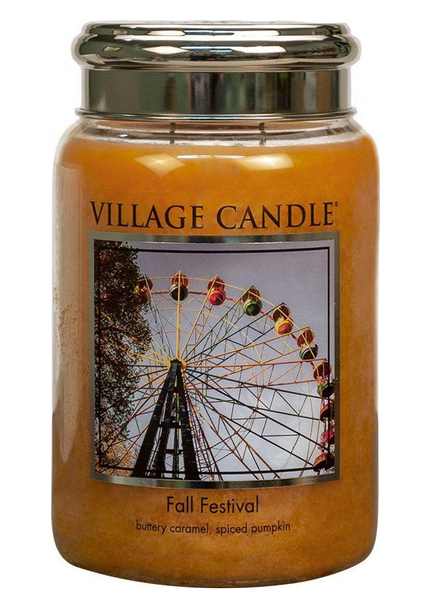 Village Candle Fall Festival Large Jar
