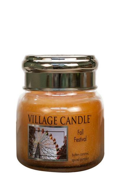 Village Candle Fall Festival Small Jar