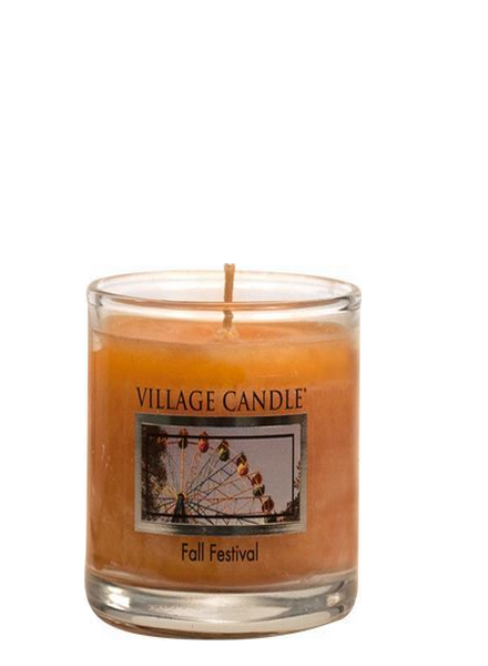 Village Candle Fall Festival Votive