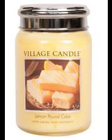 Village Candle Lemon Pound Cake Large Jar