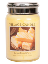 Village Candle Lemon Pound Cake Large Jar