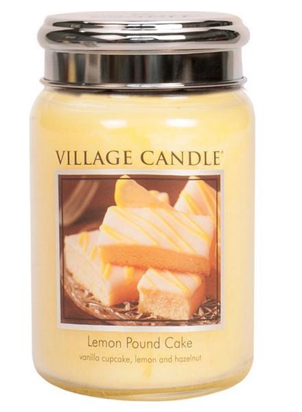 Village Candle Village Candle Lemon Pound Cake Large Jar