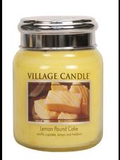 Village Candle Lemon Pound Cake Medium Jar