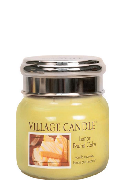 Village Candle Lemon Pound Cake Small Jar