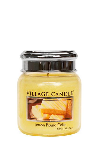 Village Candle Lemon Pound Cake Mini Jar
