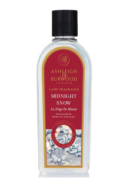 Ashleigh & Burwood Geurlamp Olie Ashleigh & Burwood Midnight Snow 500 ml
