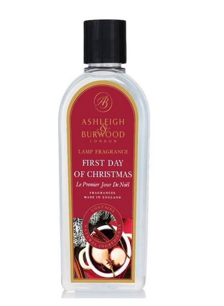 Ashleigh & Burwood Geurlamp Olie Ashleigh & Burwood First Day of Christmas 500 ml