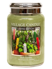 Village Candle Herb Garden Large Jar