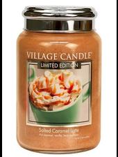 Village Candle Salted Caramel Latte Large Jar