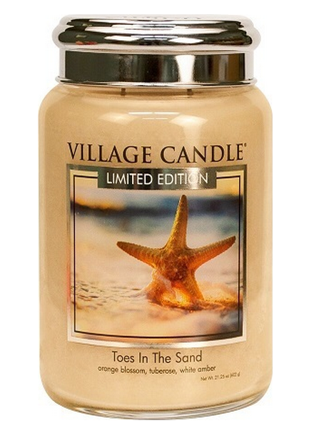 Village Candle Toes In The Sand Large Jar