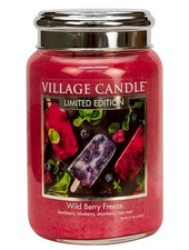 Village Candle Wild Berry Freeze Large Jar