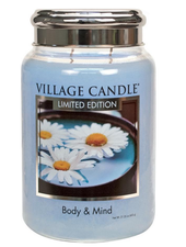 Village Candle Body & Mind Large Jar