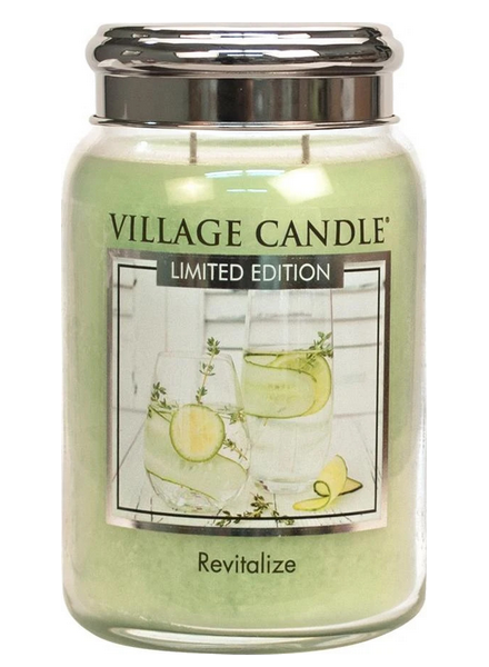 Village Candle Revitalize Large Jar