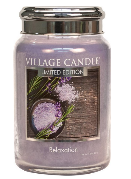 Village Candle Relaxation Large Jar