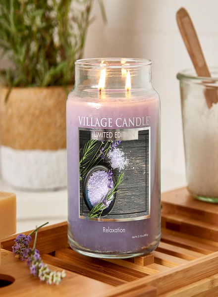 Village Candle Village Candle Relaxation Large Jar