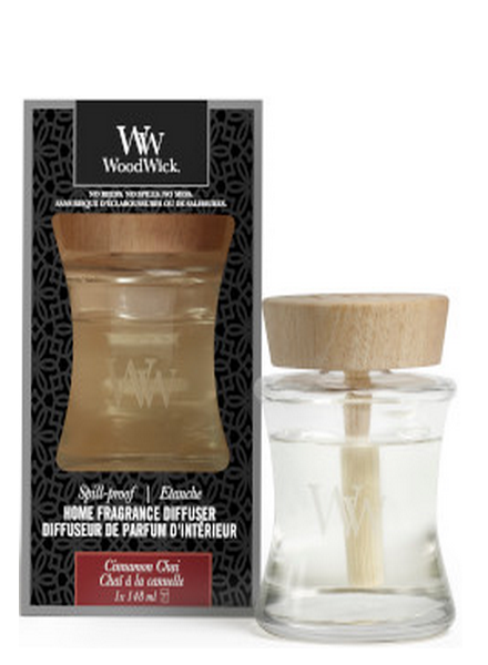 Woodwick Woodwick Cinnamon Chai Spill Proof Home Fragrance Diffuser