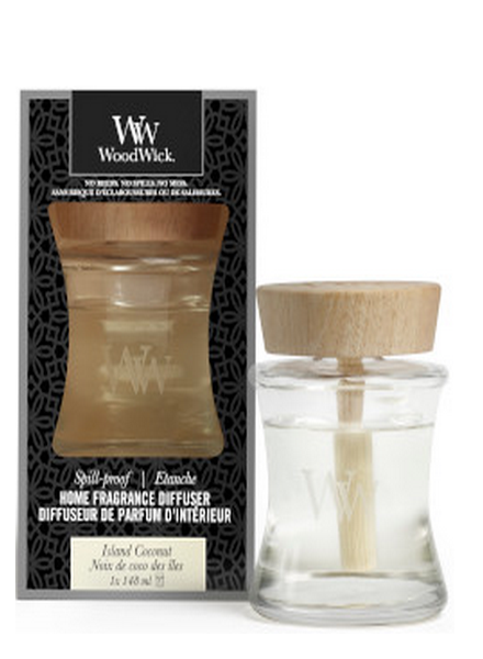 Woodwick Woodwick Island Coconut Spill Proof Home Fragrance Diffuser