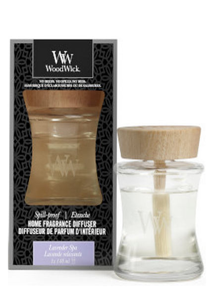 Woodwick Woodwick Lavender Spa Spill Proof Home Fragrance Diffuser