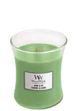 Woodwick Medium Hemp & Ivy