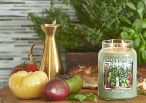 Village Candle Village Candle Herb Garden Medium Jar