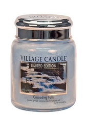Village Candle Cascading Falls Medium Jar