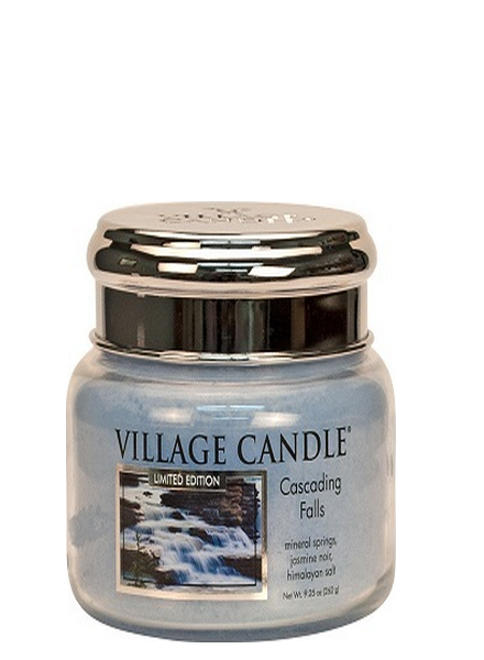 Village Candle Cascading Falls Small Jar