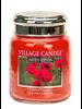 Village Candle Village Candle Fields of Poppies Medium Jar
