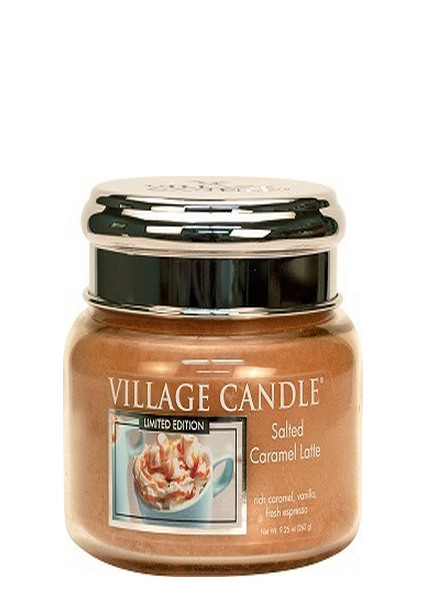 Village Candle Salted Caramel Latte Small Jar
